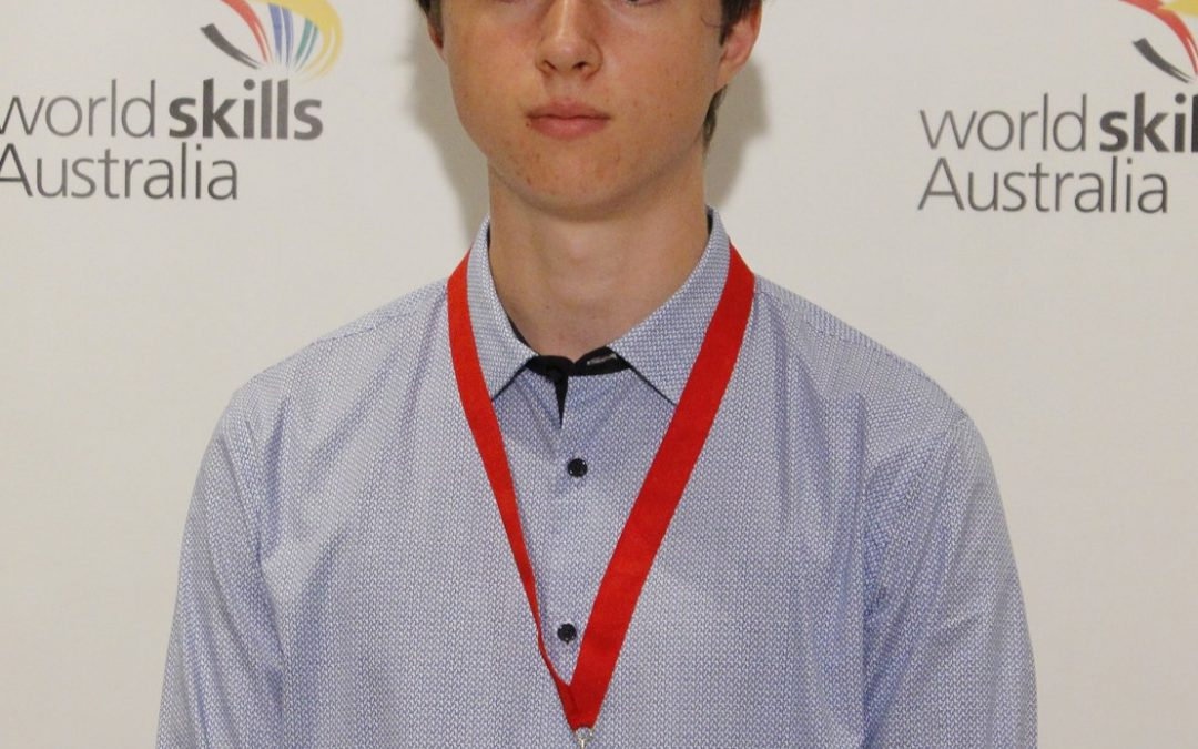 Gold Medal at WA WorldSkills Competition